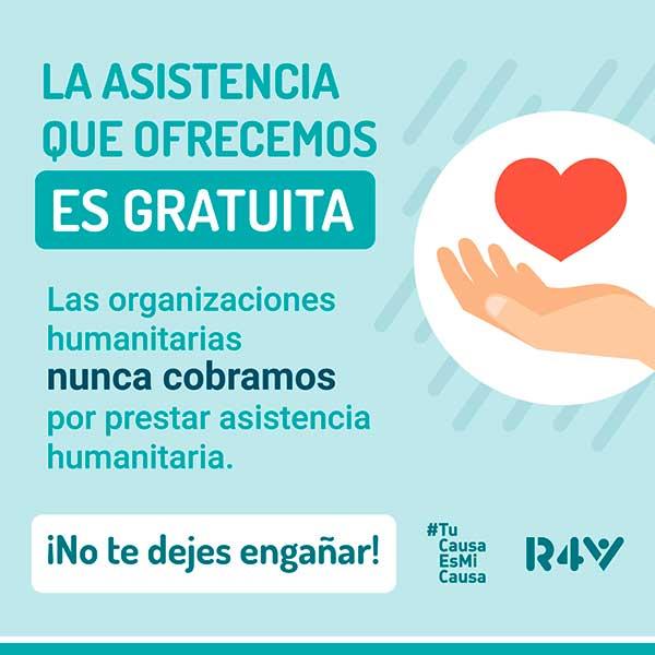 ONG-servicio-gratuito-evitar-fraude-VenInformado-migrantes-refugiados-Perú-GTRM-r4v-acnur