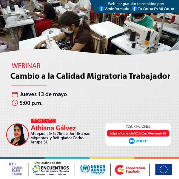 Webinar-Encuentros-orientación-migrantes-VenInformado-Calidad-Migratoria-Trabajador