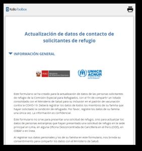 COVID-Vacunación-MinSa-Peru-Solicitantes-Refugio-CEPR