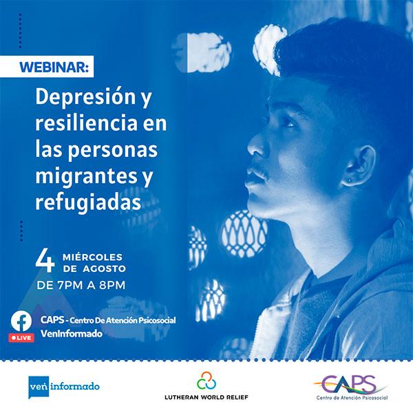 SaludableMente-CAPS-VenInformado-LWR-Webinar-Depresión-Resiliencia
