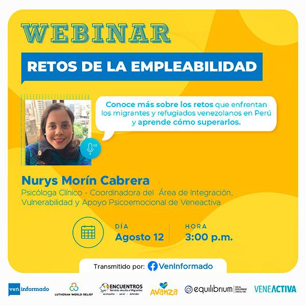 EmprendedorInformado-Empleabilidad-Empleos-Migrantes-Refugiados-LWR-VenInformado-Webinar