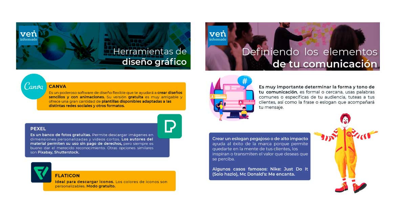 VenInformado-publicaciones-rrss-redes-facebook-instagram-emprendimientos-LWR-migrantes-refugiados-Equilibrium-Perú