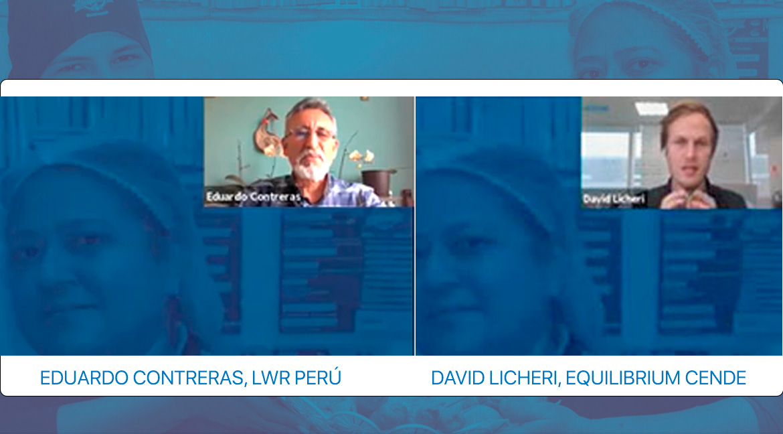 webinar-emprendimiento-de-migrantes-ONG-LWR-Equilibrium-conversatorio-VenInformado-Perú-mirantes-refugiados